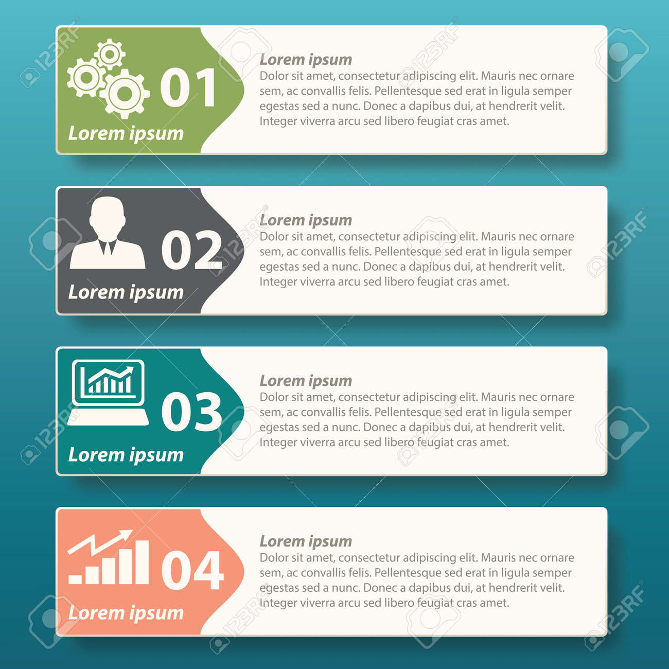 Infographic Label Template Design For Corporate Advertise And ...