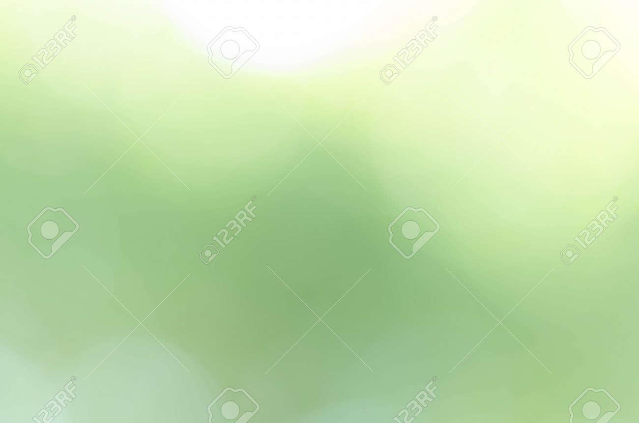 Green bokeh light background blur - 150945502