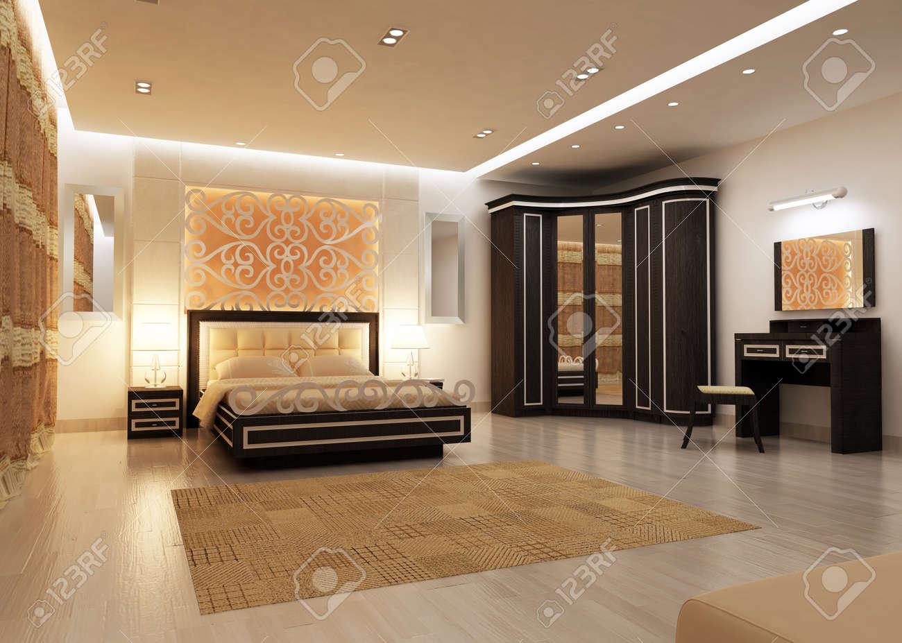 Modern Bedroom Interior Design Big Modern Bedrooms