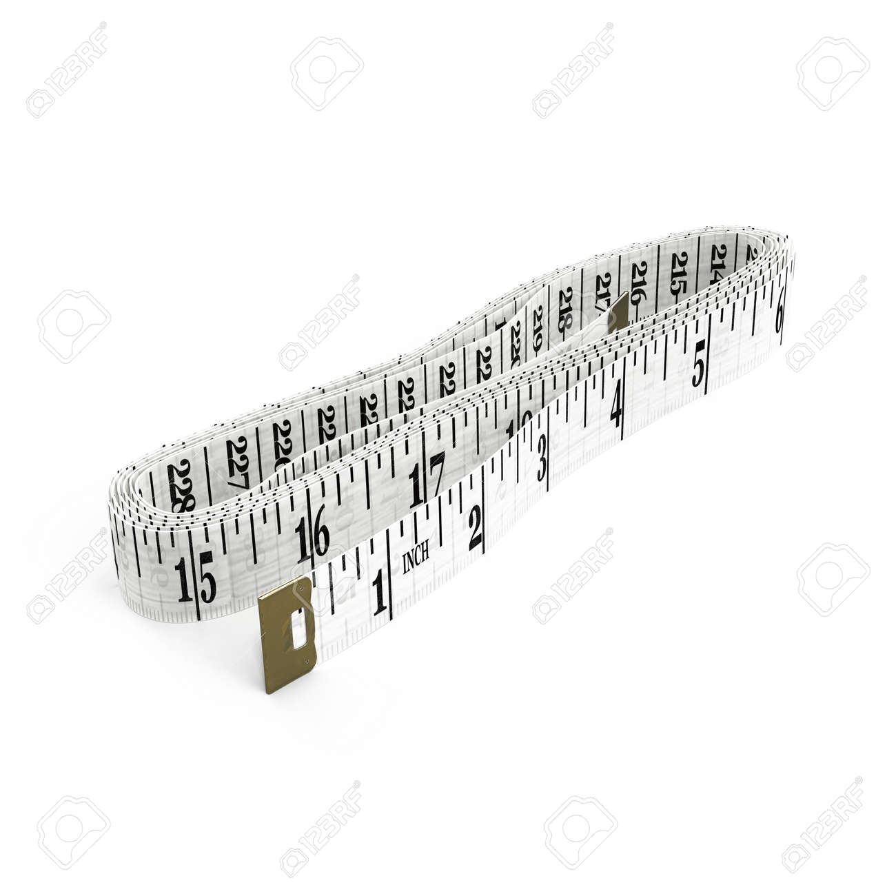 Tailor measuring tape with soft shadowasurements of lengthmeter illustration tailor measuring tape with soft shadowasurements of lengthmeter for the tailorcloseupwhite background 3d illustration ccuart Gallery