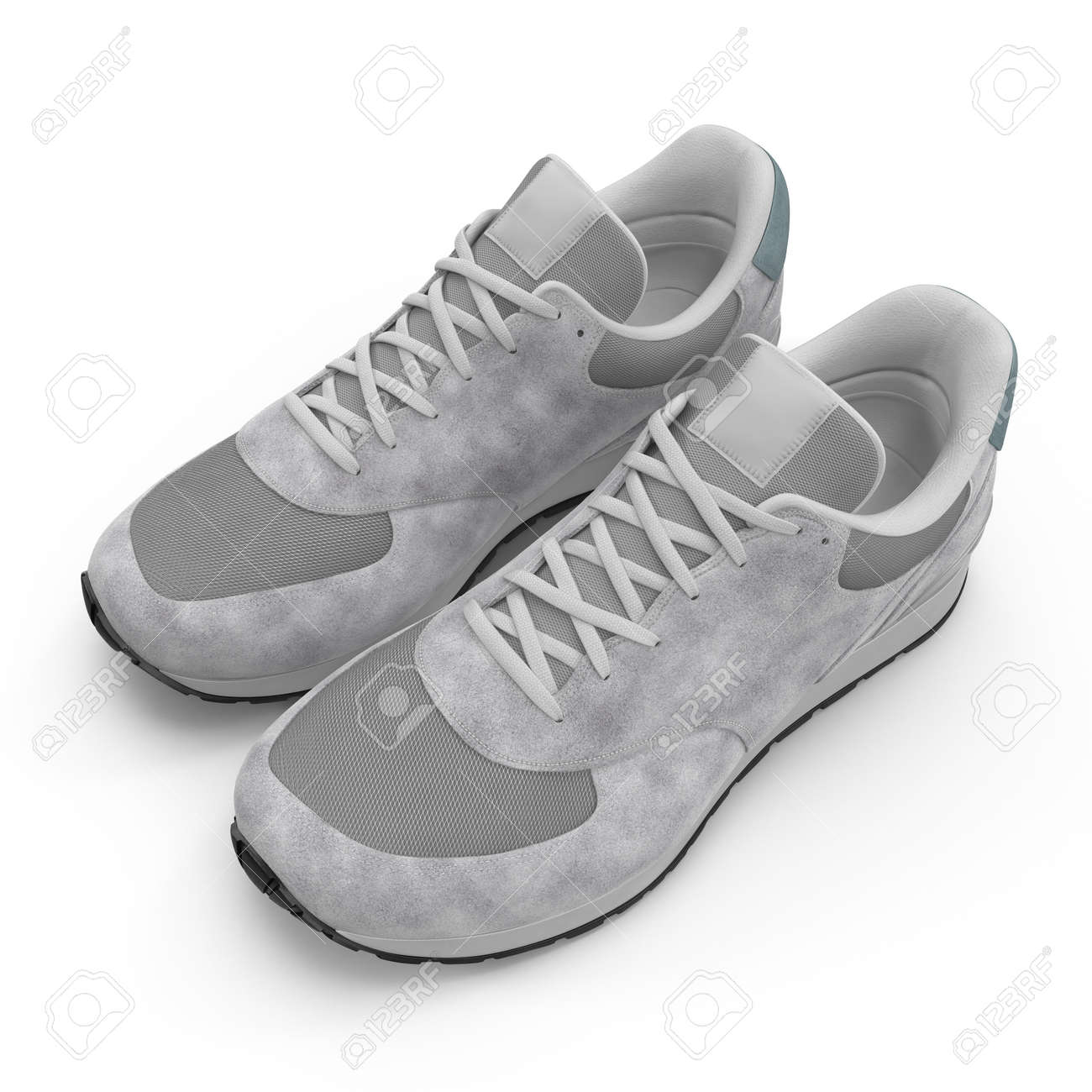 57cbaa9db4e82 Foto de archivo - Nueva zapato de running sin marca
