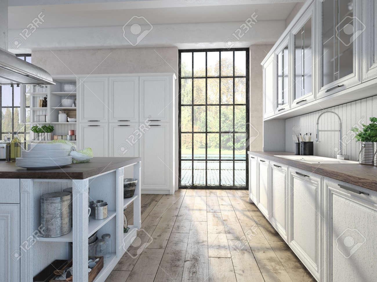 Atractivo Fotos De Cocina Con Electrodomésticos De Acero Inoxidable ...