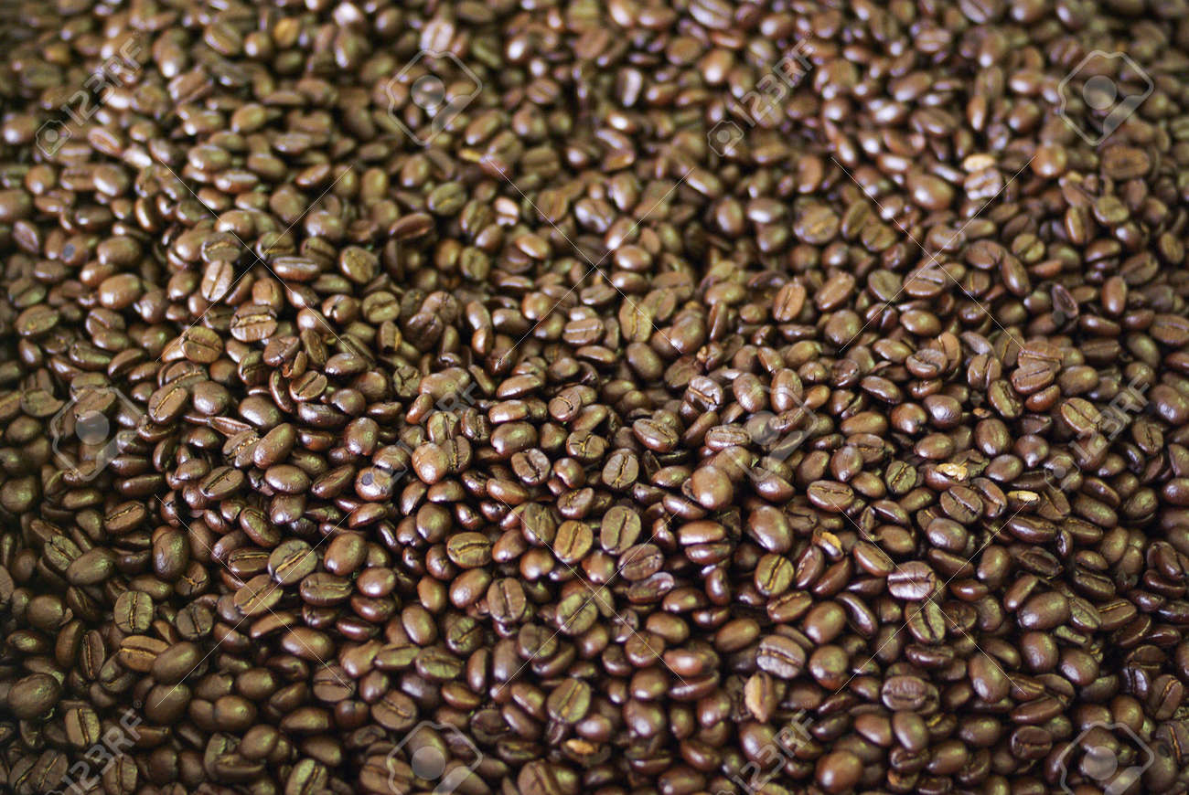 Coffee beans roasted Stock Photo - 15390657