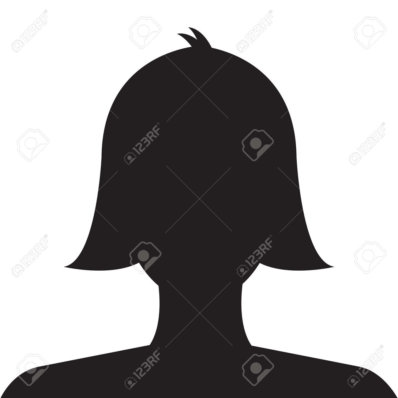 Female profile avatar ...