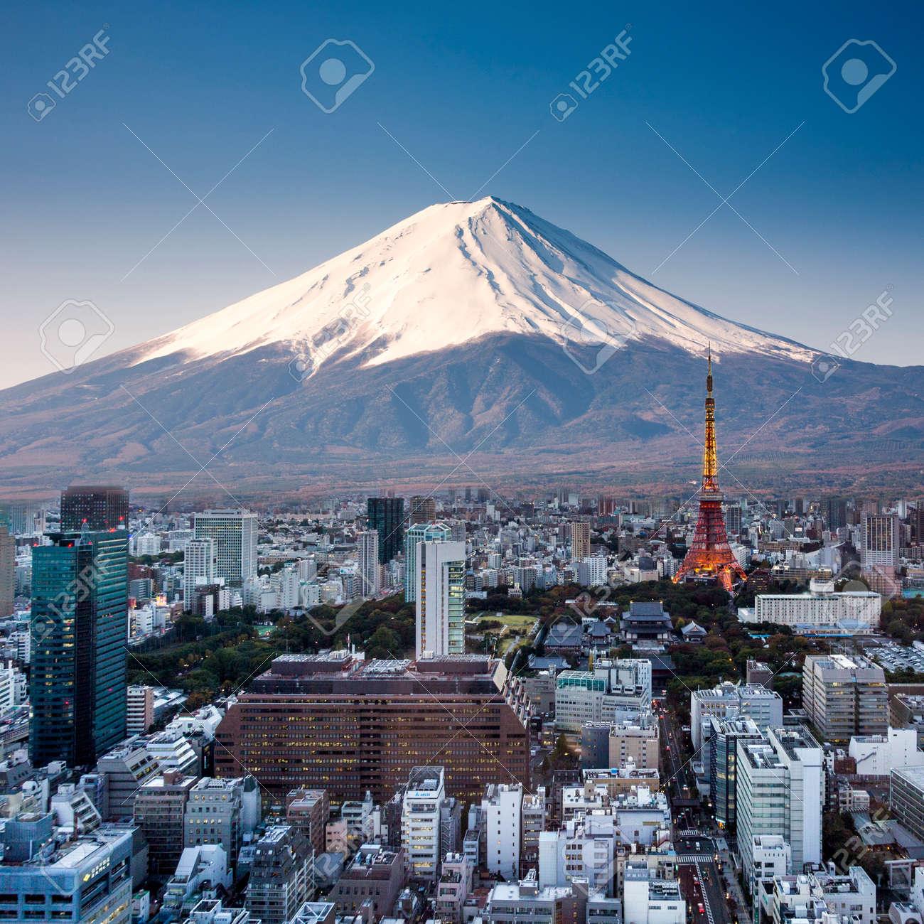 tokio monte fuji