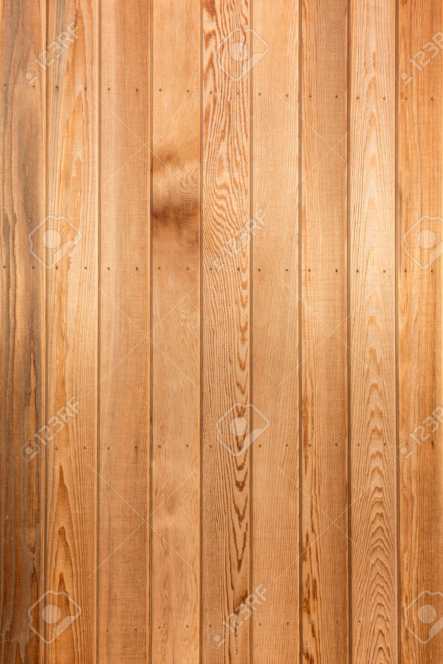 Big Brown wood plank wall texture background - 42054640