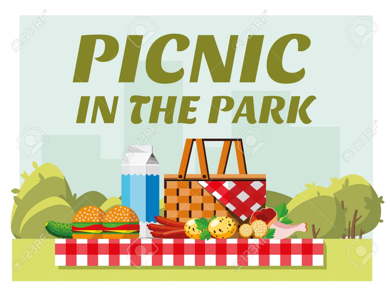 e8fabe13f16e Recreation In Nature. Picnic. Picnic In The Park. Summer Picnic ...