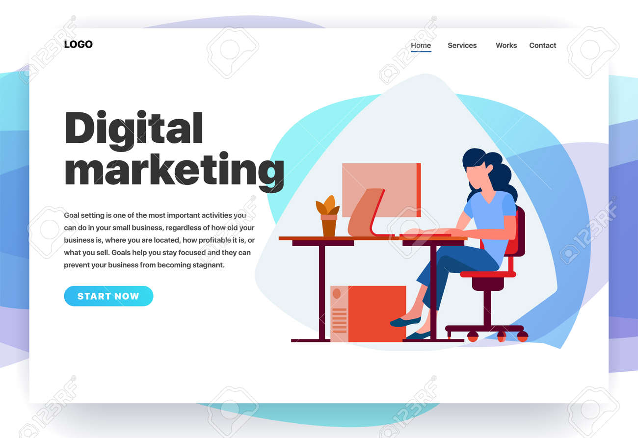 web page design templates for digital marketing consulting royalty free cliparts vectors and stock illustration image 117851069 web page design templates for digital marketing consulting