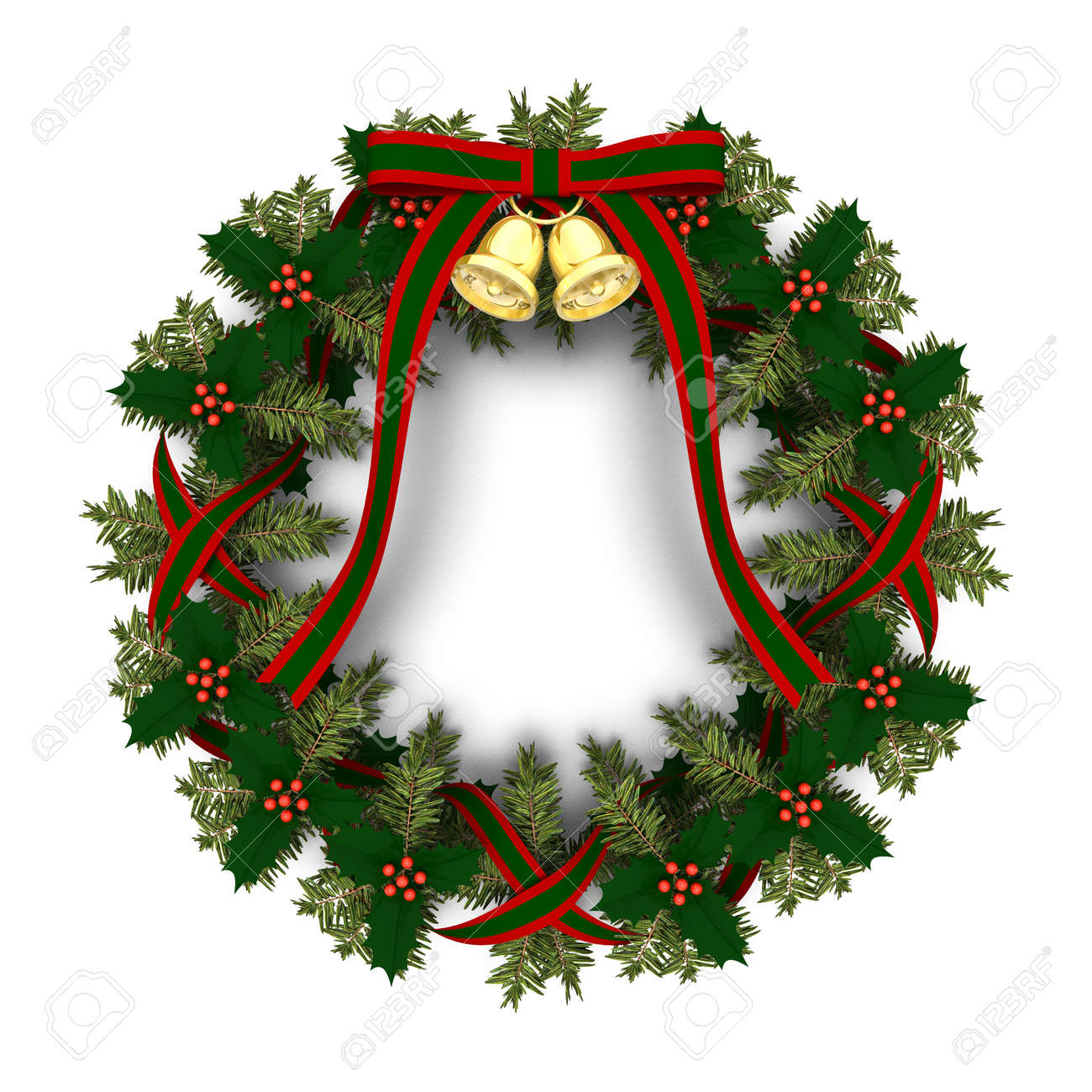 christmas wreath stock photo picture and royalty free image