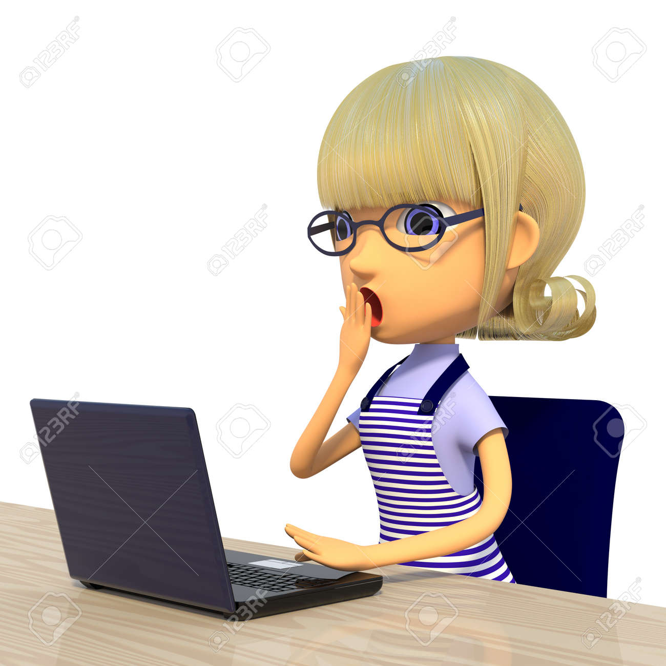 Housewife shocked Stock Photo - 16588564