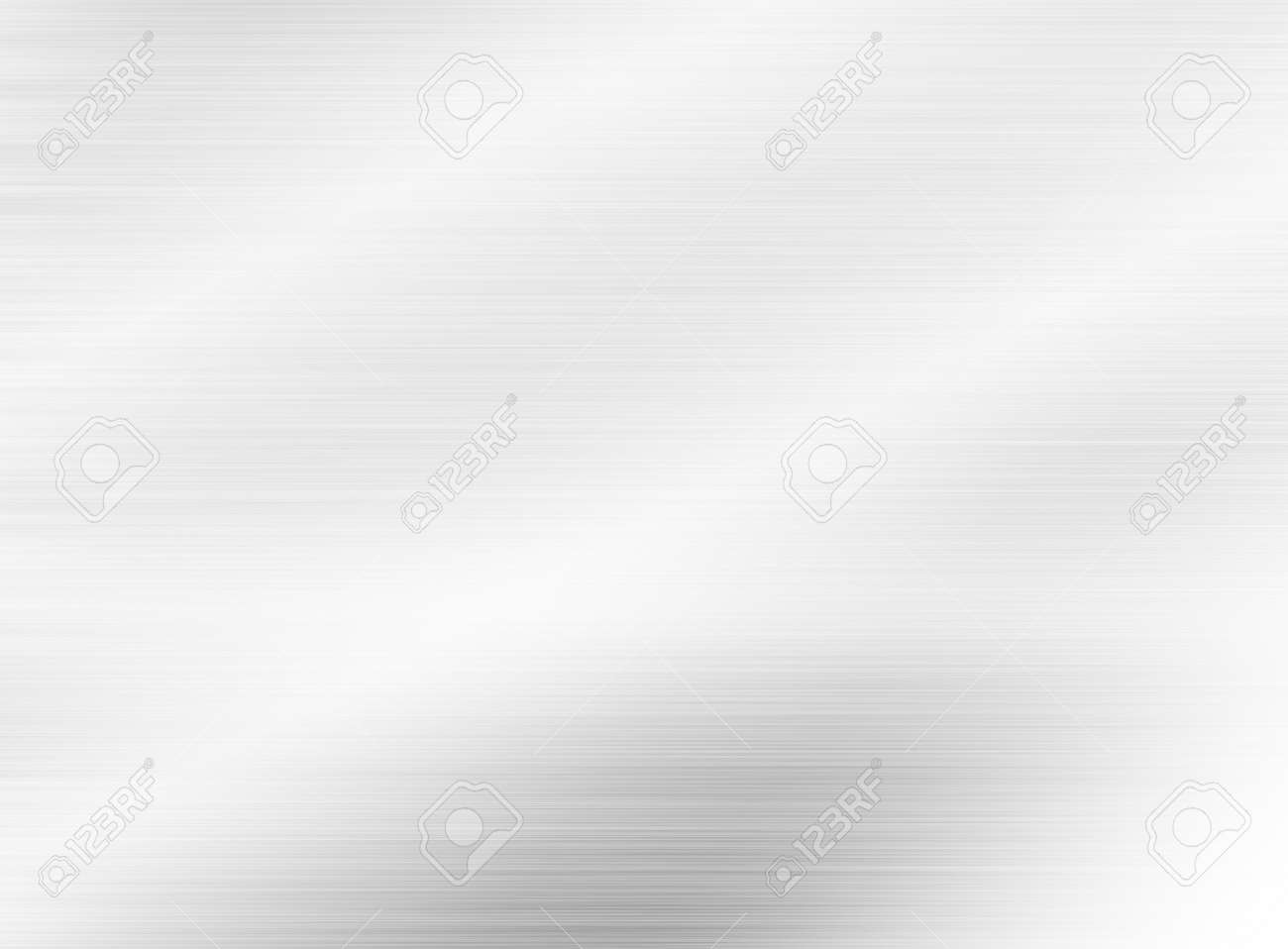metal, stainless steel texture background with reflection - 139841818