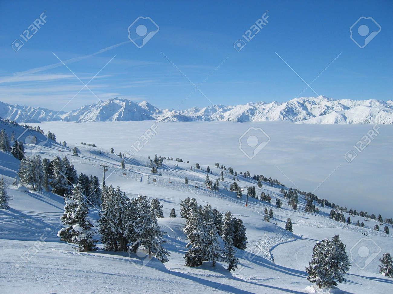 Winter Snow Scenery Stock Photo - 3367559