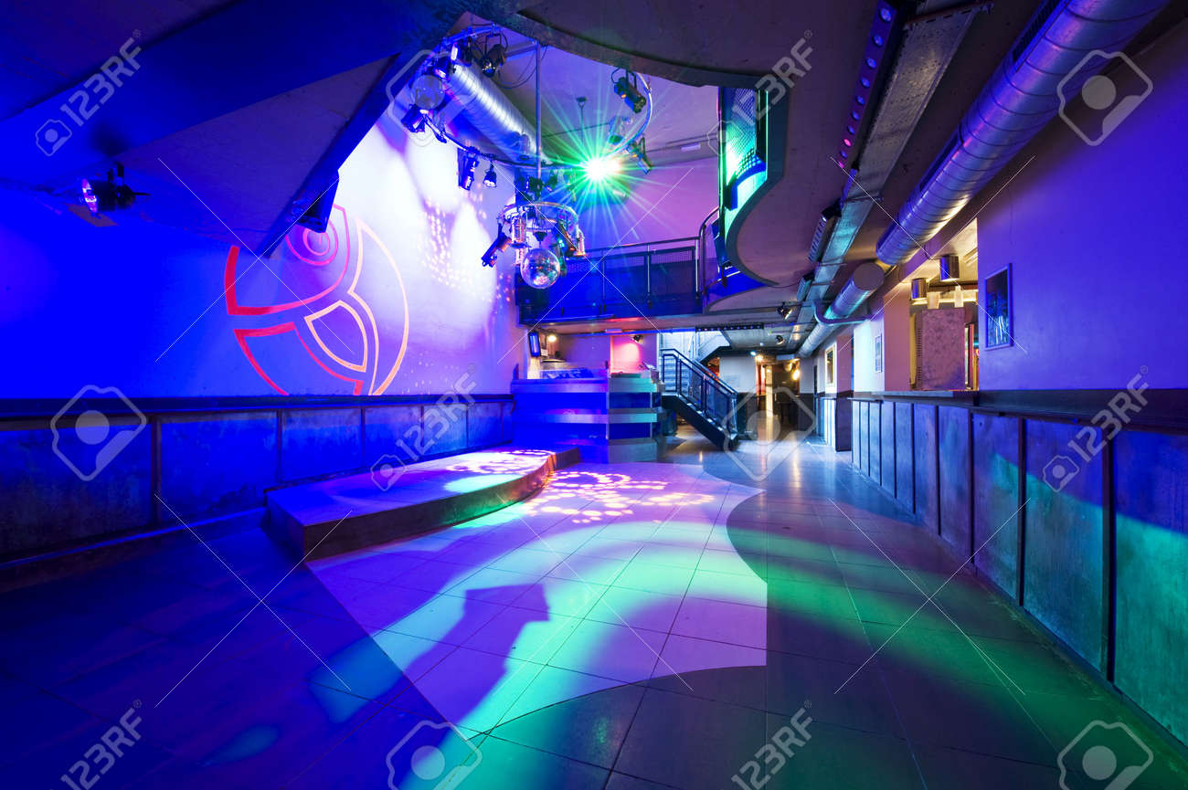The interior of a hip and trendy nightclub Stock Photo - 6566851