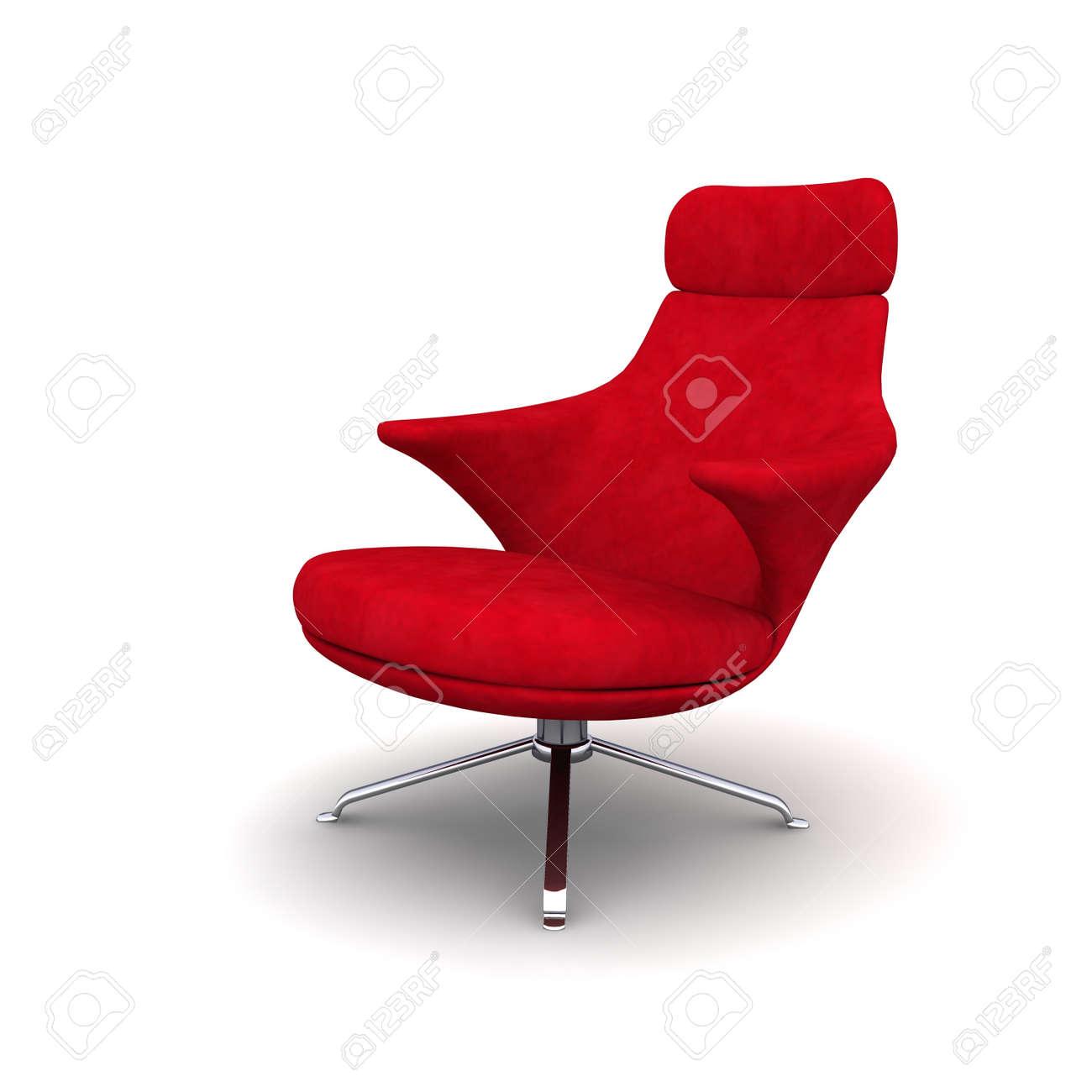 La Poltrona Rossa.La Poltrona Rossa E Ideale Per L Interno Di Un Ufficio
