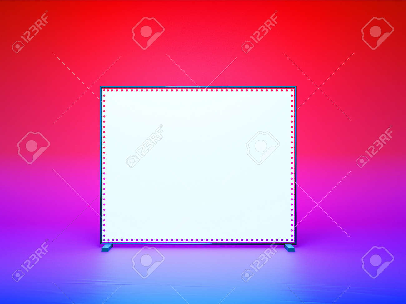 Free photo booth background template