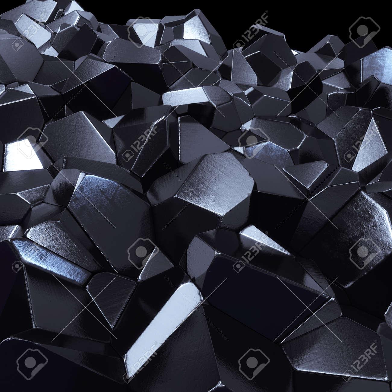 Abstract hi-tech geometric 3d background - 24117076