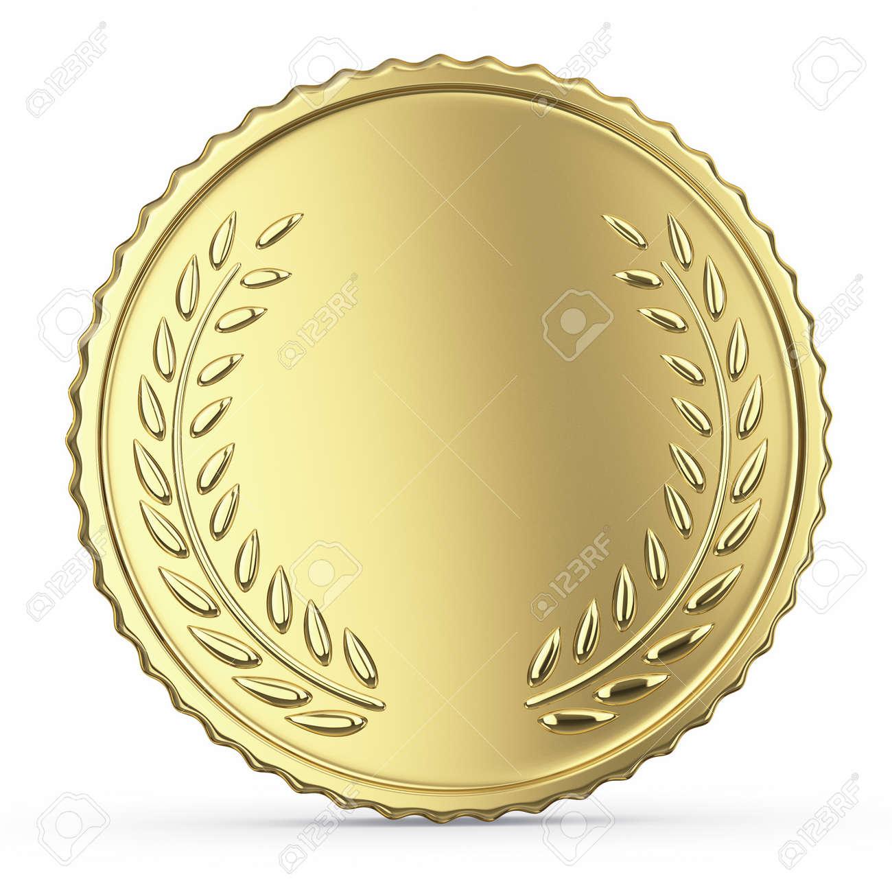 Blank golden medal - 24117474