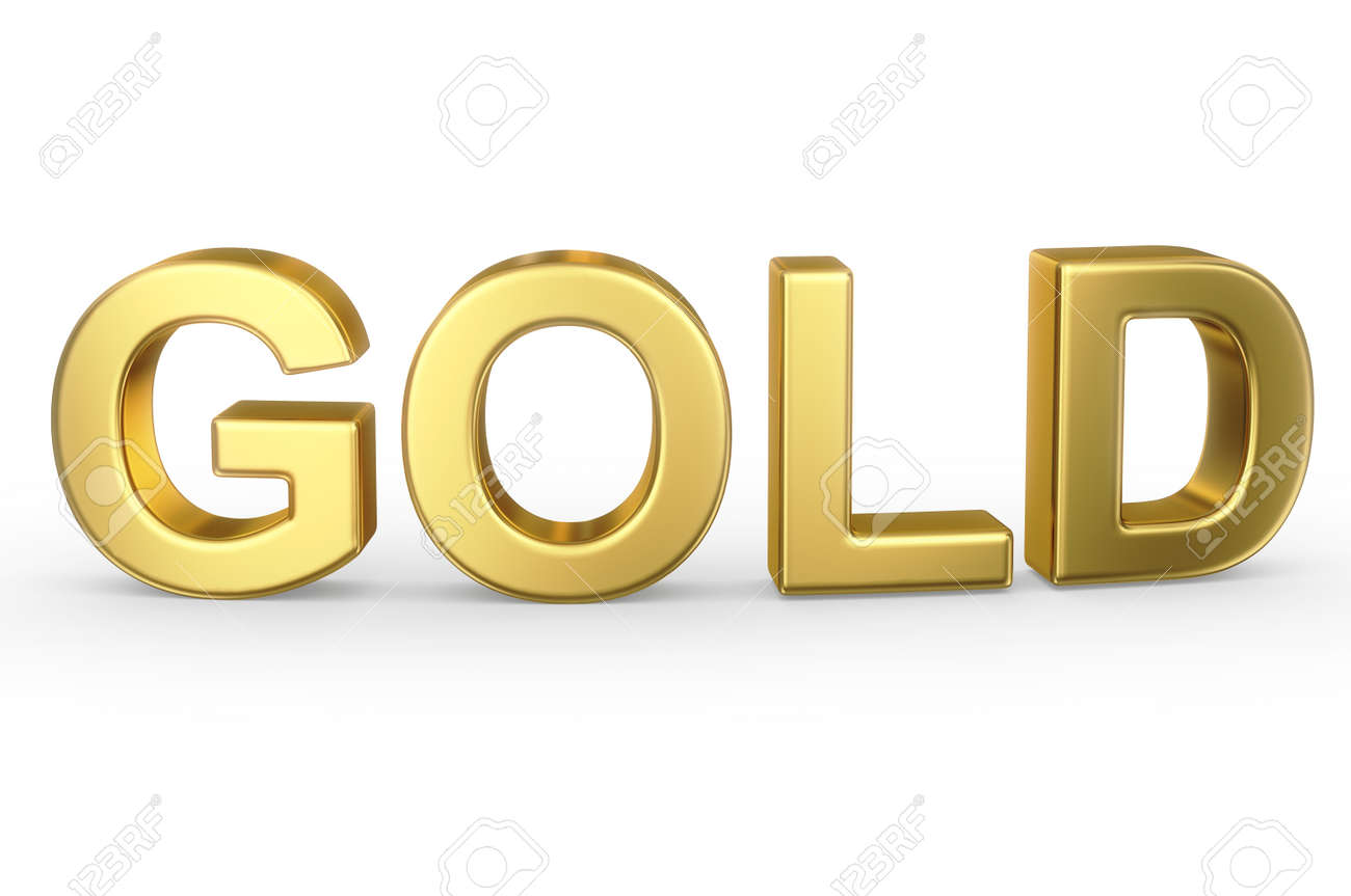 golden word gold stock photo picture and royalty free image image