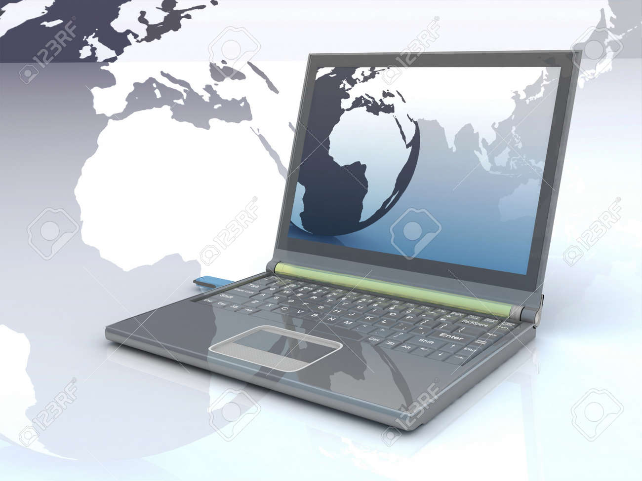 Internet Concept of global business Stock Photo - 11846211