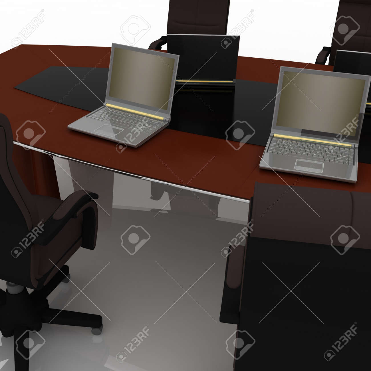 table for negotiations Stock Photo - 11946410