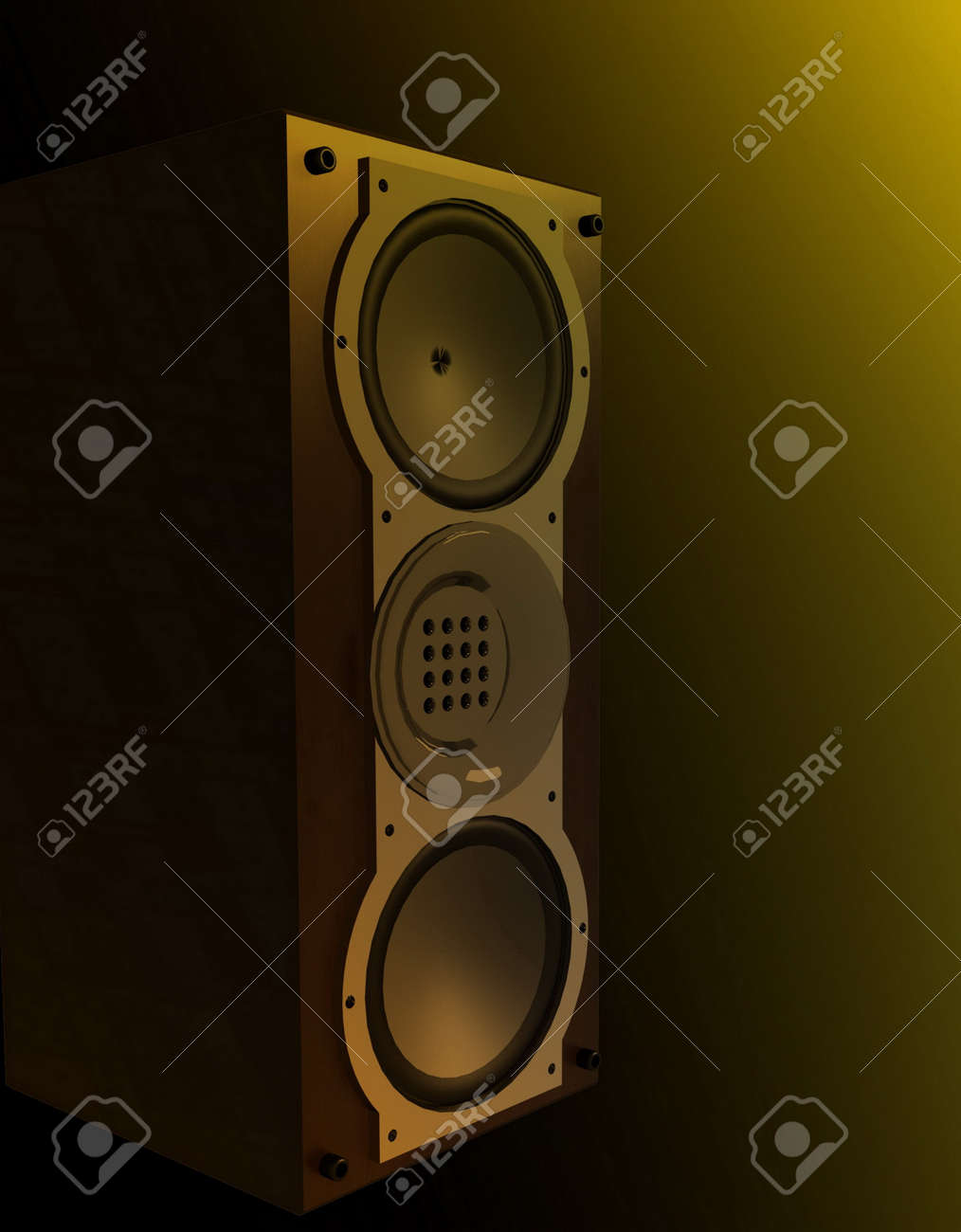 Acoustic system Stock Photo - 11948927