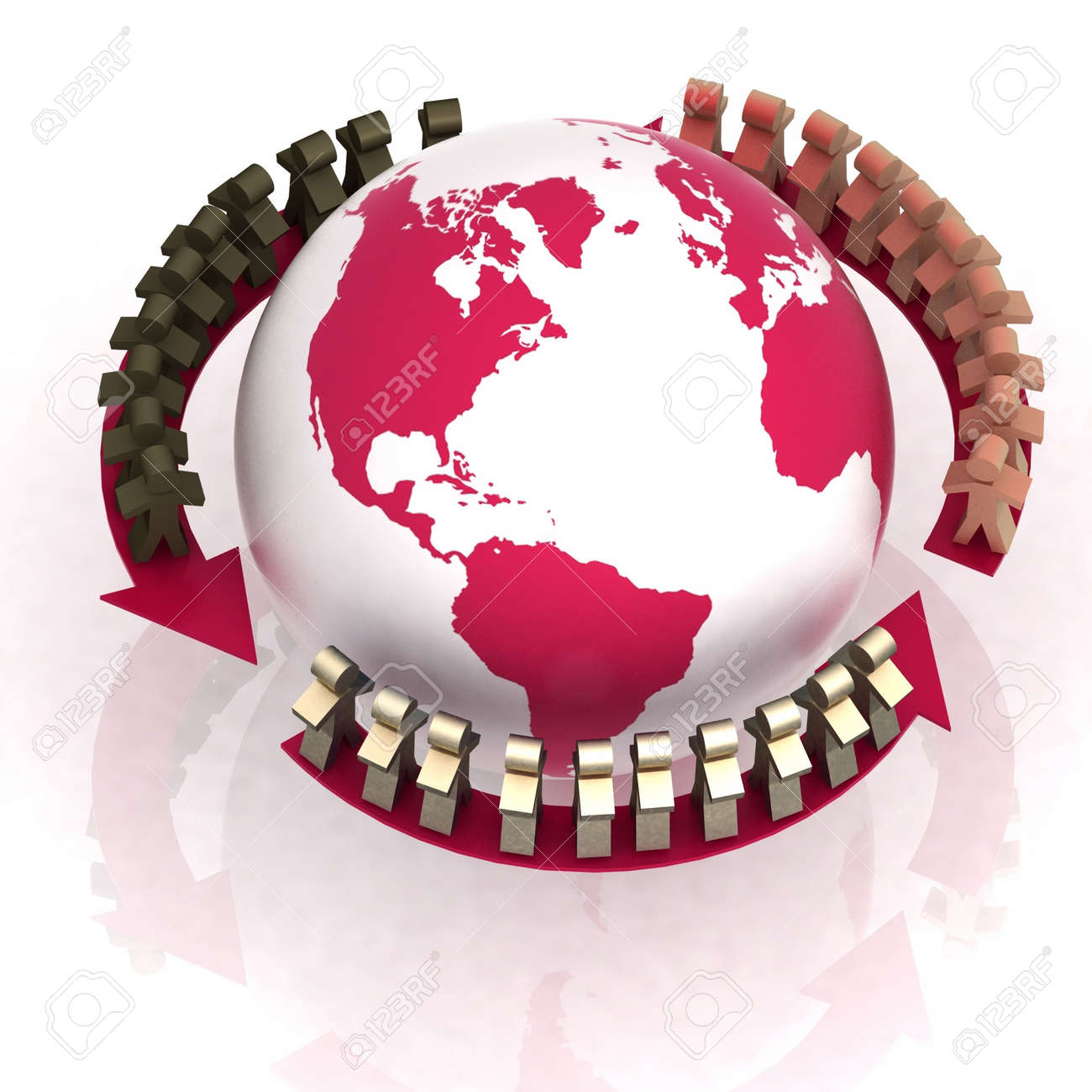 conception of world partner concord Stock Photo - 12050833