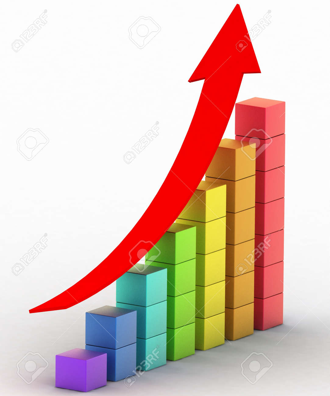 simple business chart stock photo picture and royalty free image