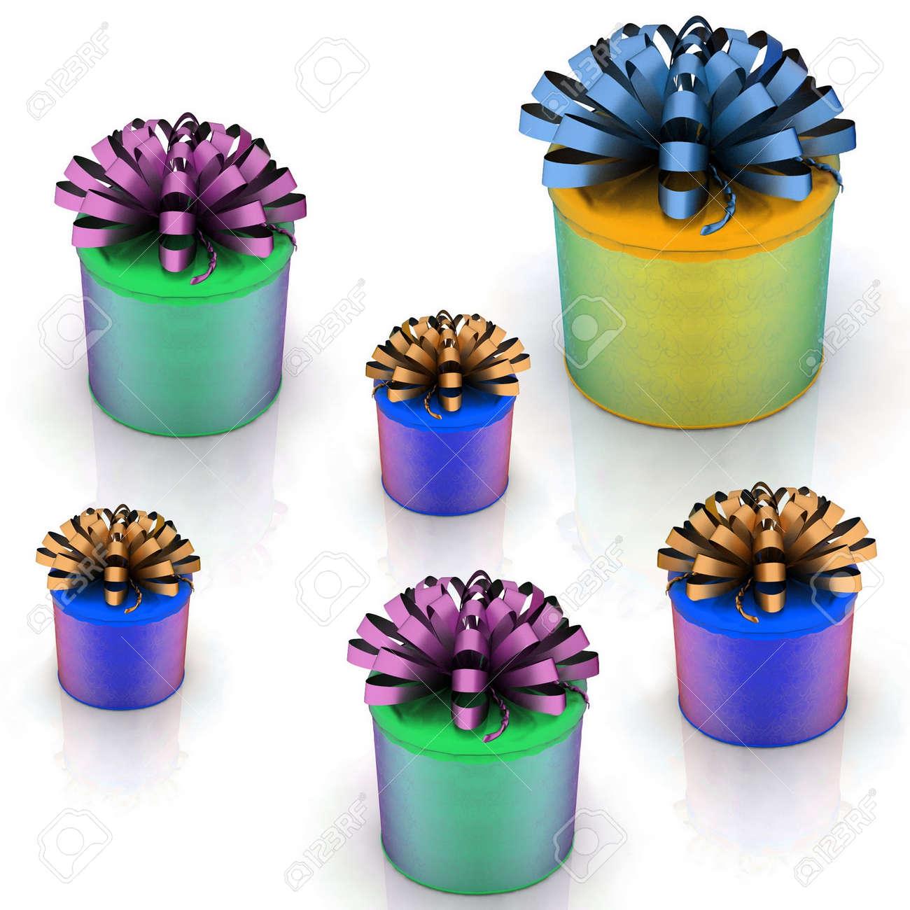 gift boxes Stock Photo - 12089779
