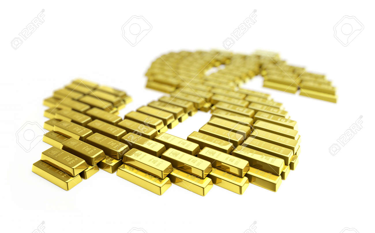 gold dollar Stock Photo - 5664724