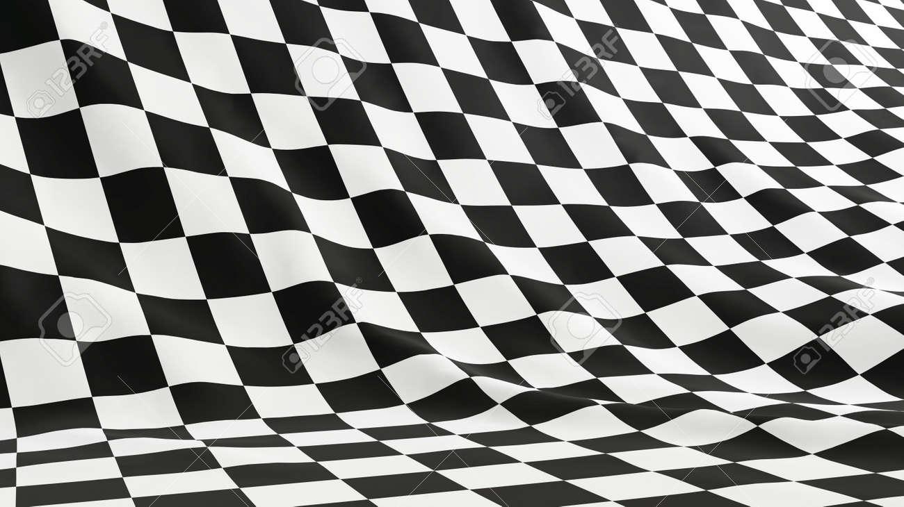 flag formula 1 Stock Photo - 6341562