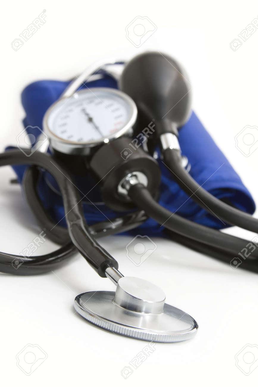 momanometr and stethoscope Stock Photo - 6341364