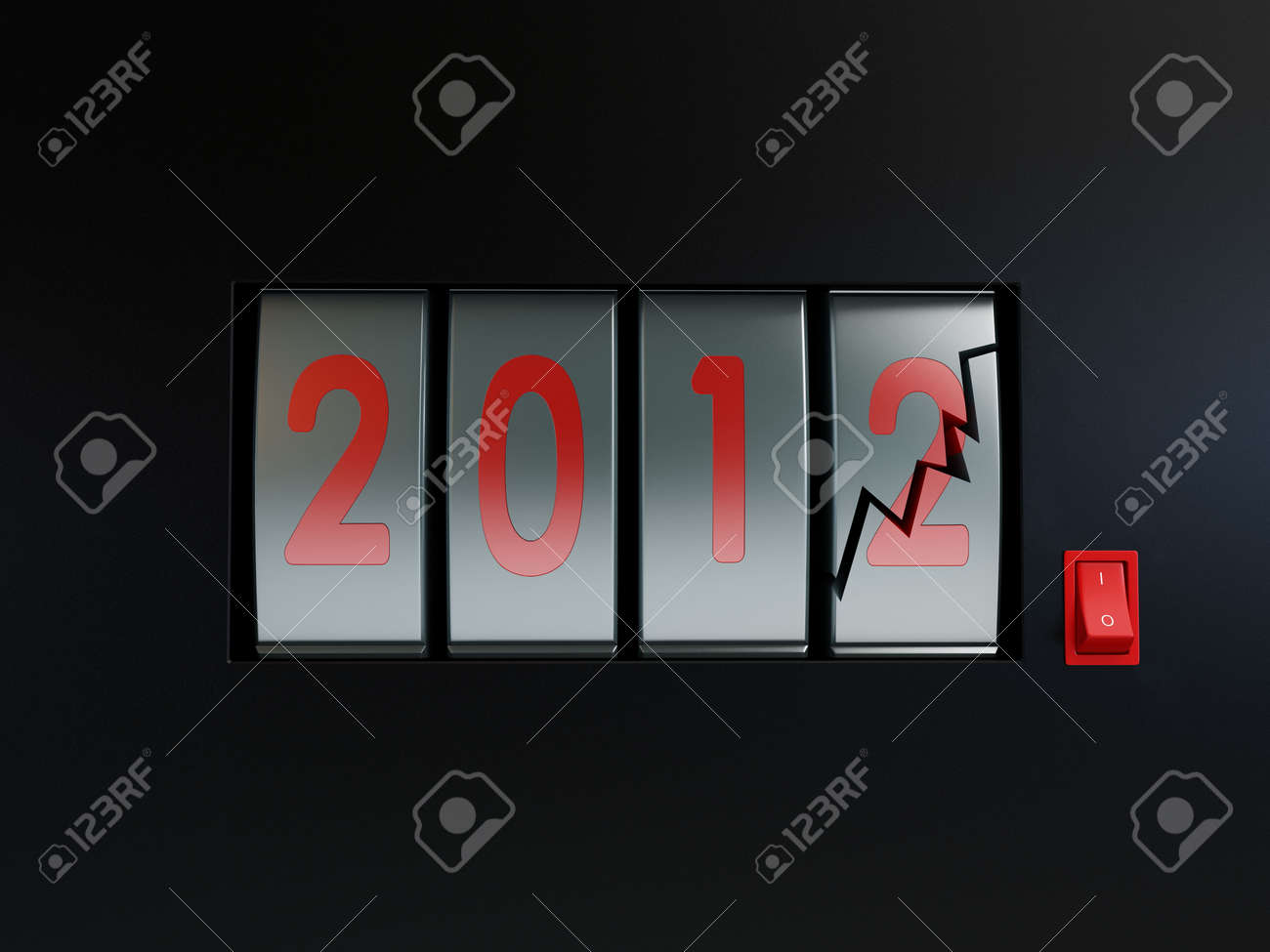 End of the World 2012 Stock Photo - 7685855