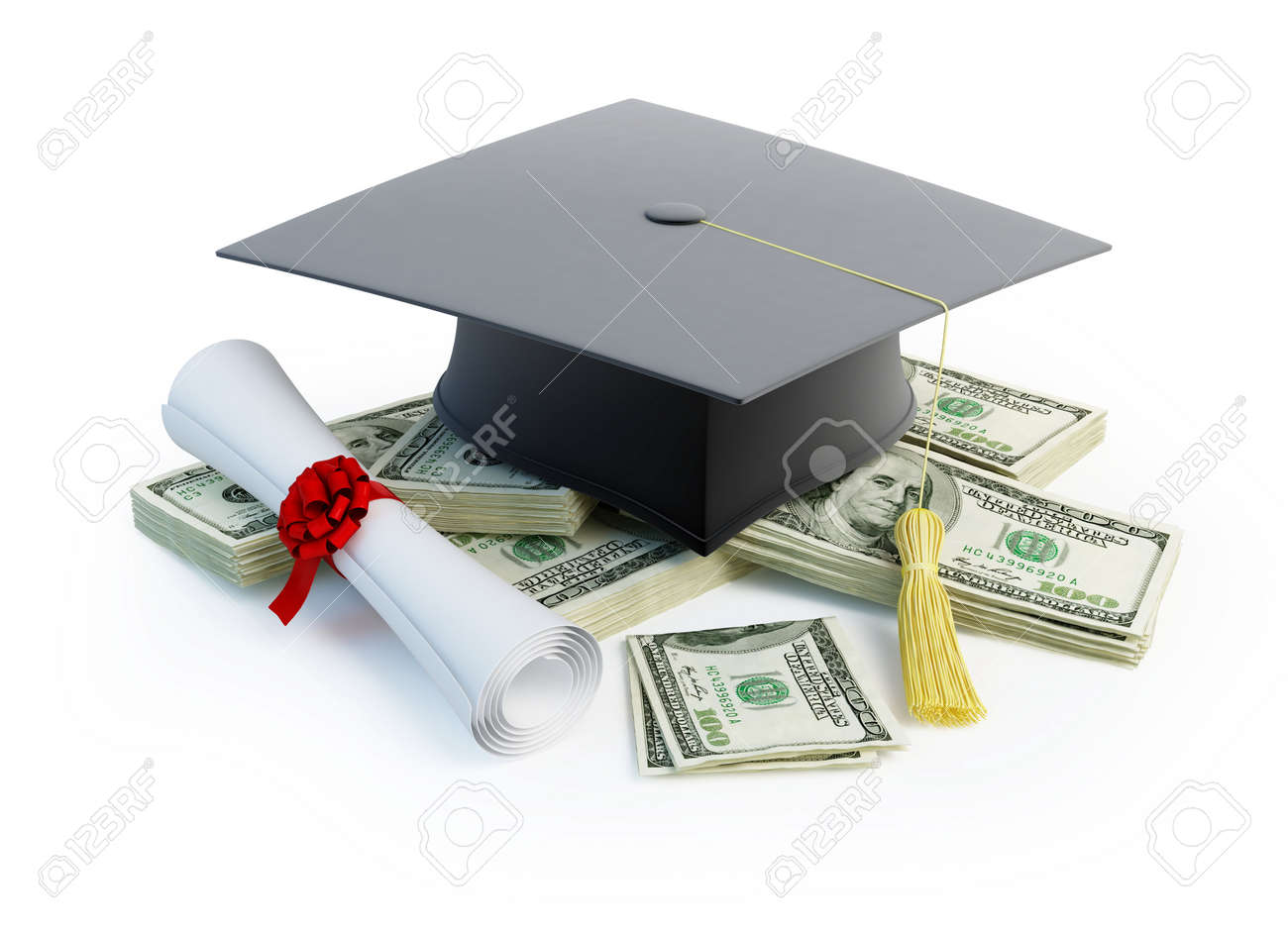 Price Leaving Certificate or training Stock Photo - 8685217