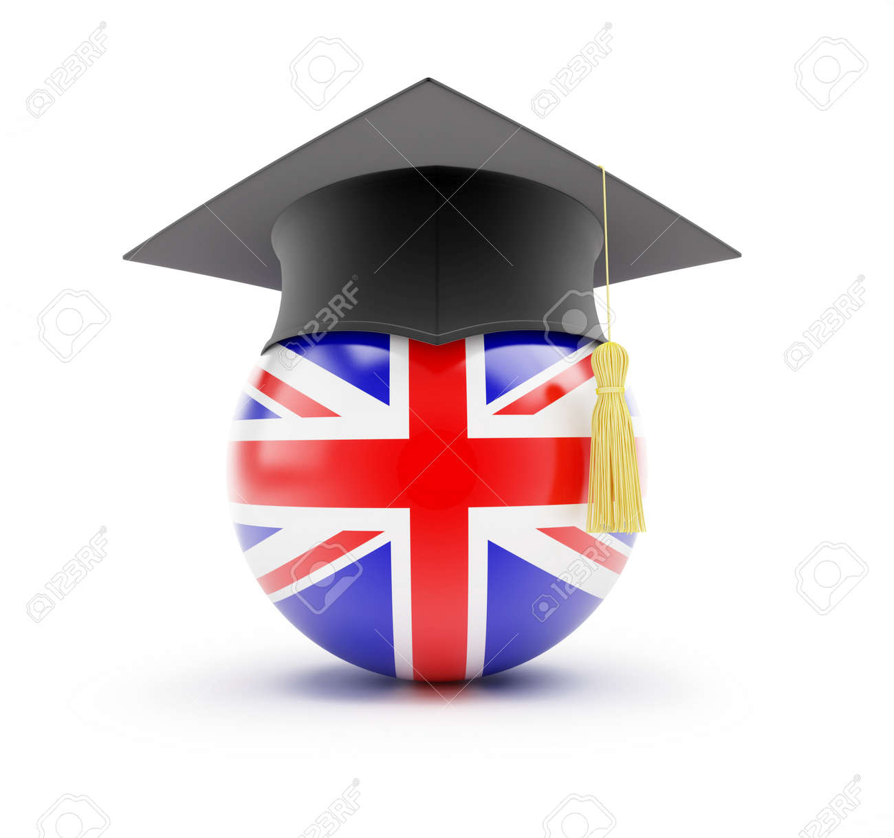 Study in England, learning English Stock Photo - 13871243