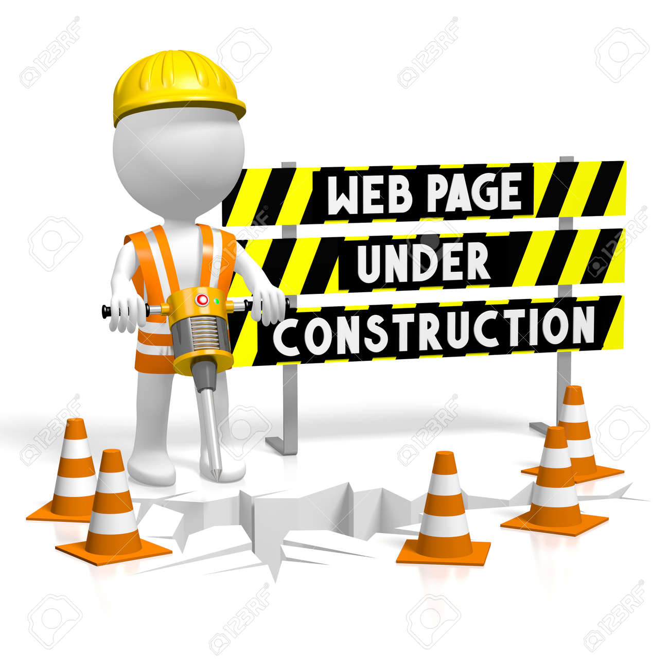 Image result for web page under construction image