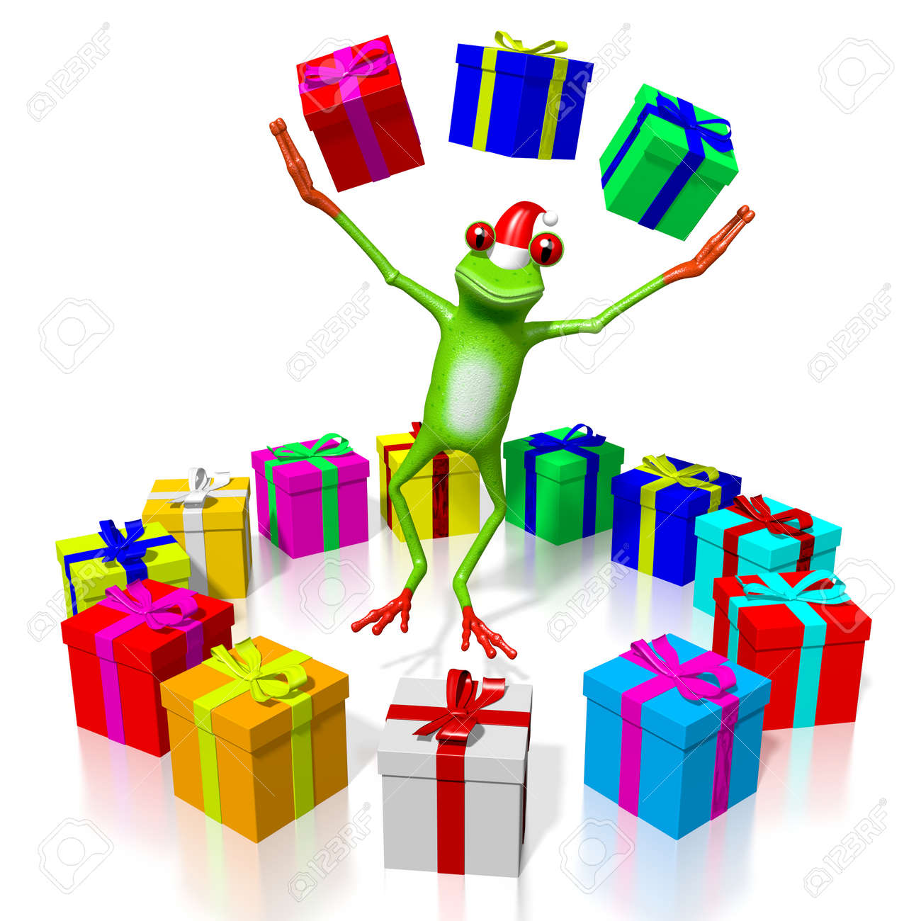 3d cartoon frog and gift boxes christmas concept stock photo 3d cartoon frog and gift boxes christmas concept stock photo 79788595 negle Choice Image