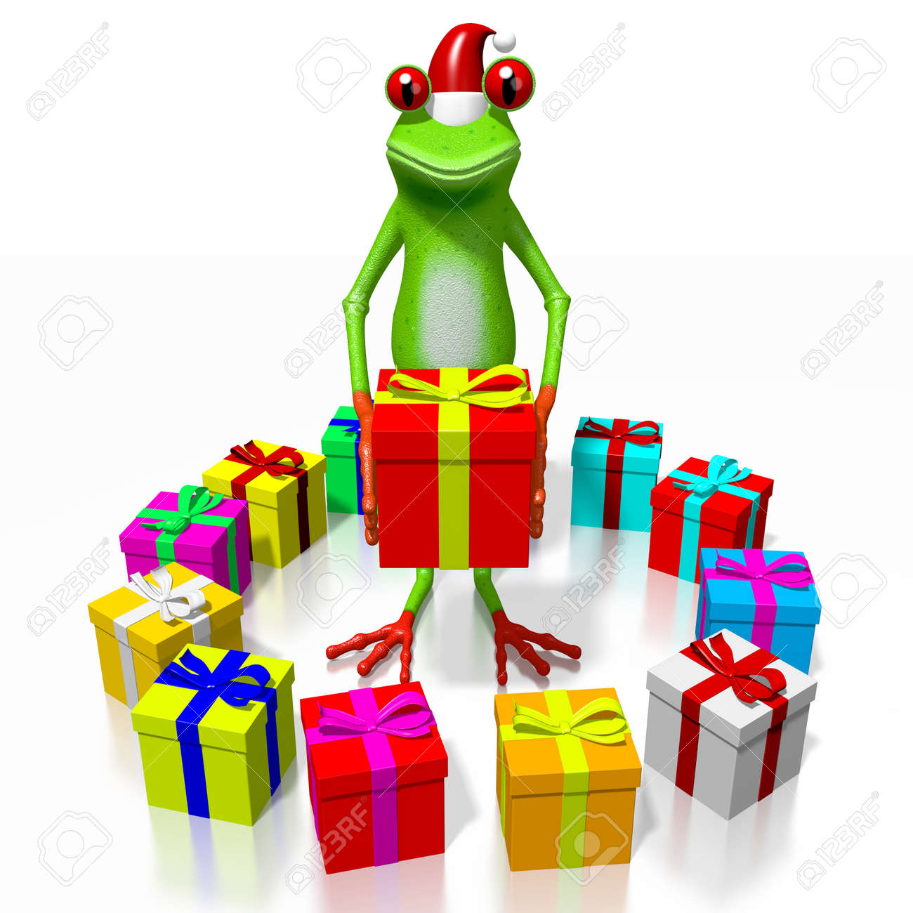 3d cartoon frog and gift boxes christmas concept stock photo 3d cartoon frog and gift boxes christmas concept stock photo 79788521 negle Gallery