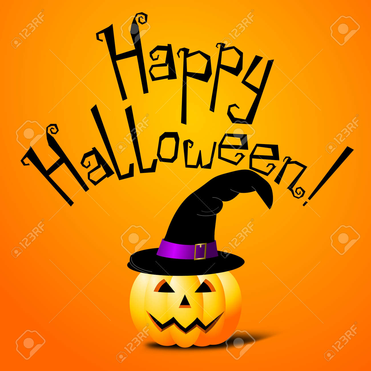 halloween card happy halloween stock photo picture and royalty