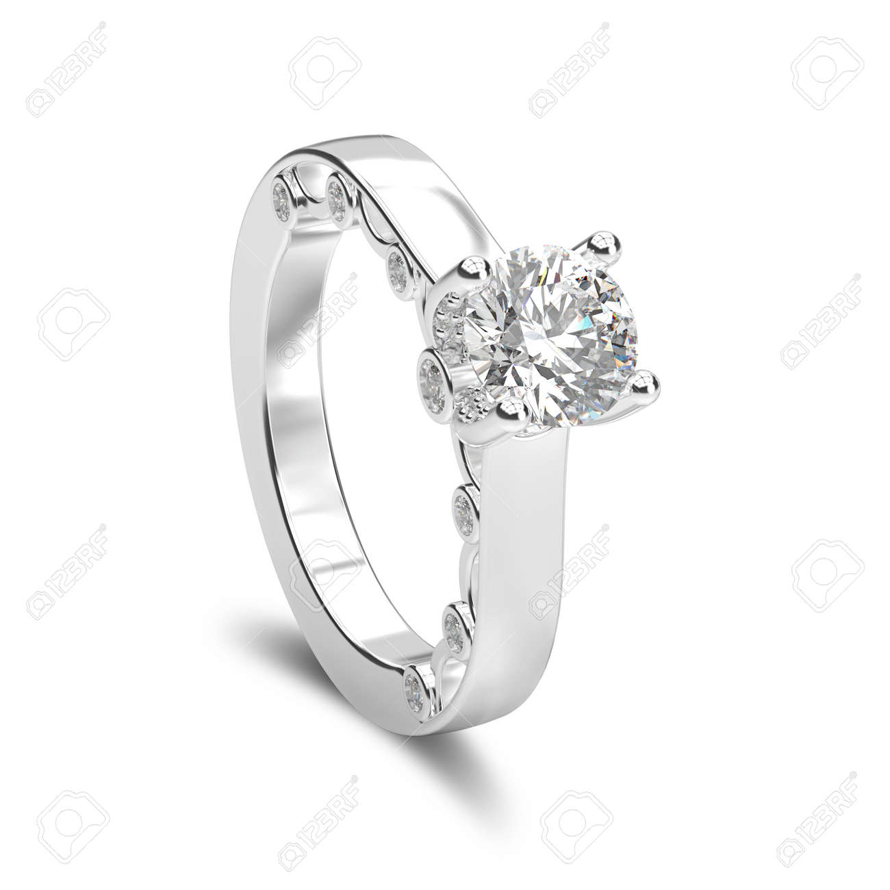 bague diamant or