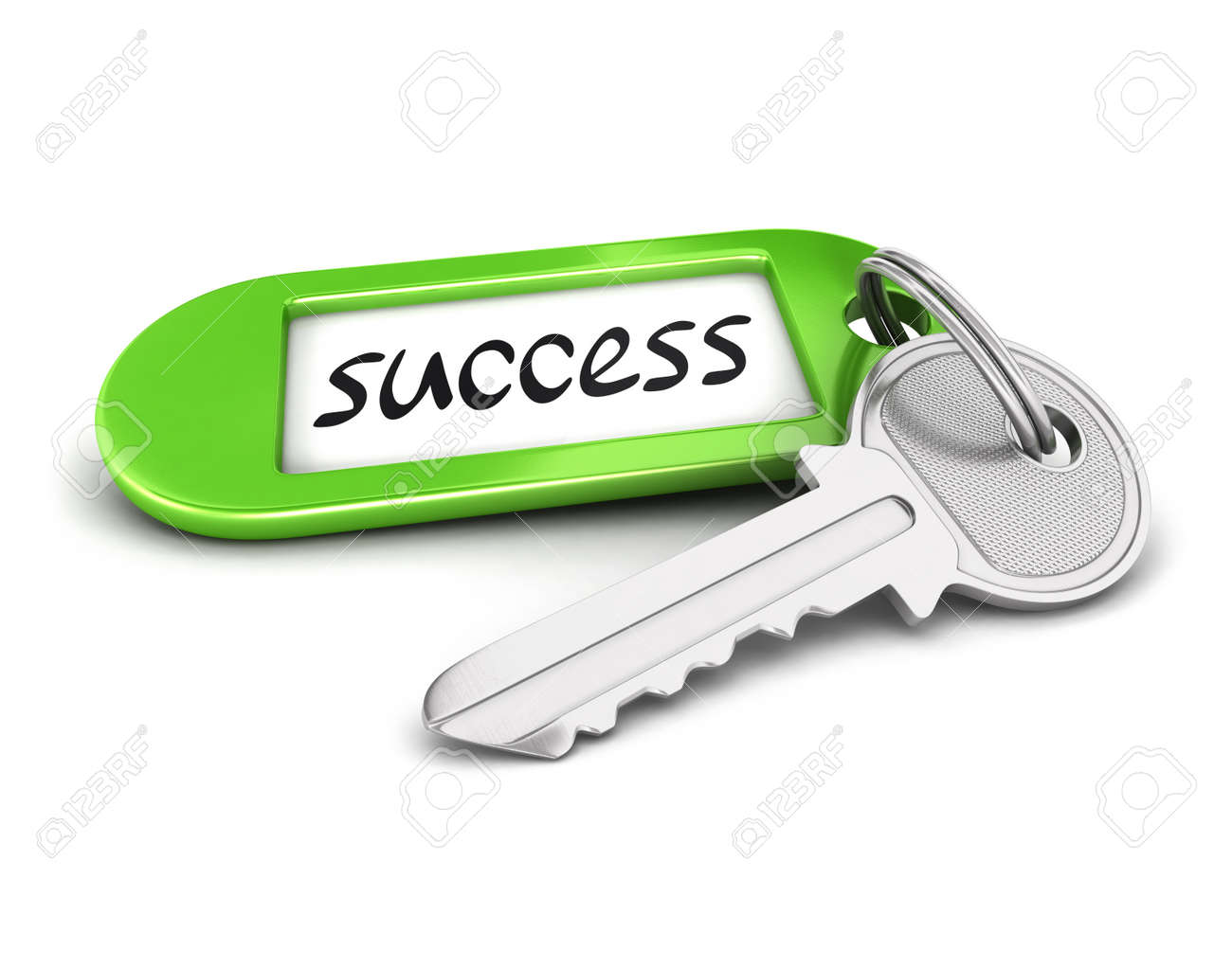 3d key to success isolated white background 3d image stock photo 3d key to success isolated white background 3d image stock photo 19085336