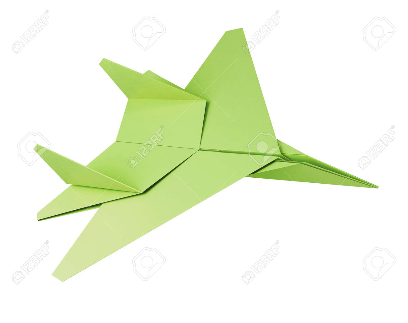 Origami Plane Set With Shadow Stock Illustration - Download Image ... | 1029x1300