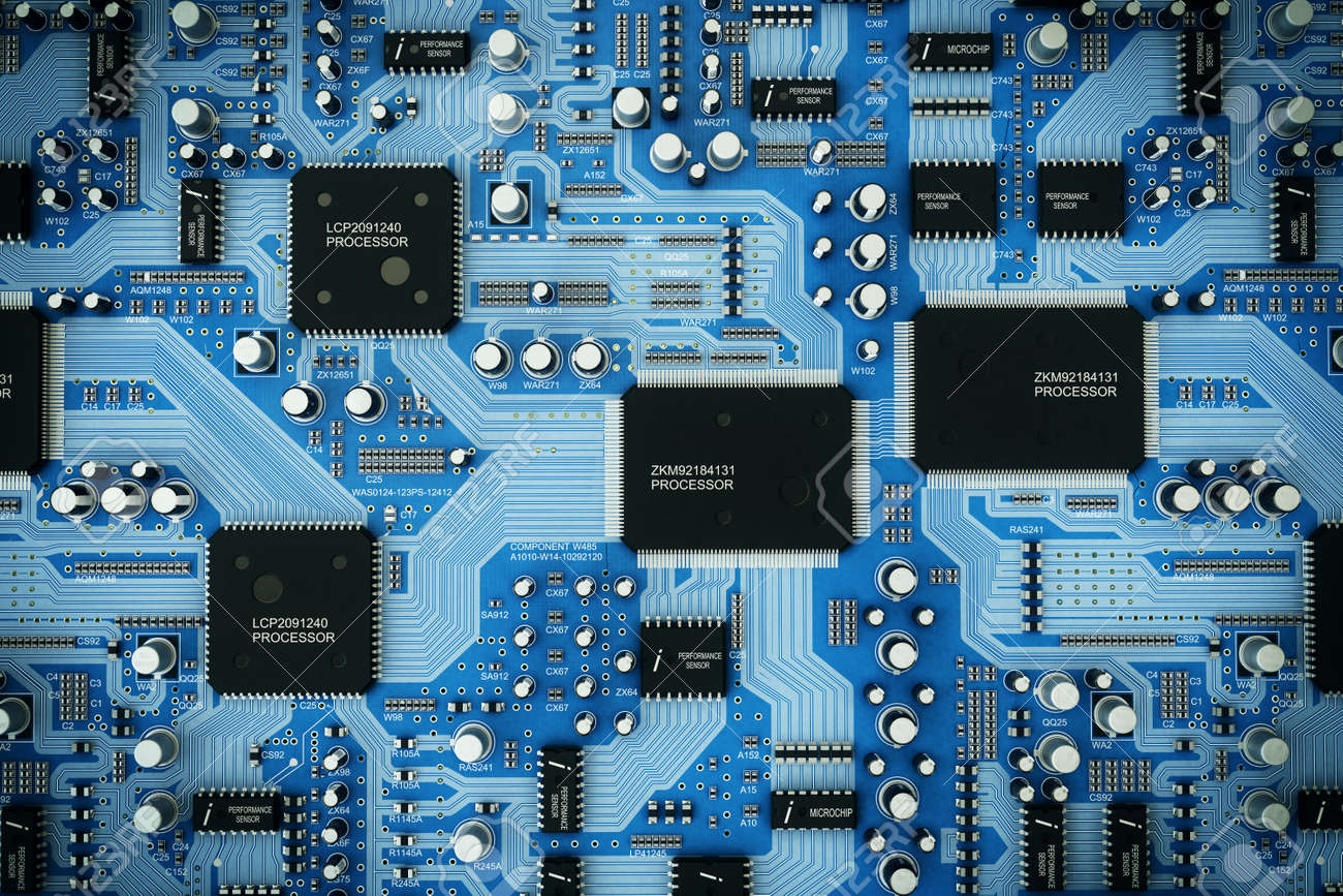 Shot Of Integrated Circuit Board Stock Photo Picture And Royalty Where To Buy Circuits 47638613