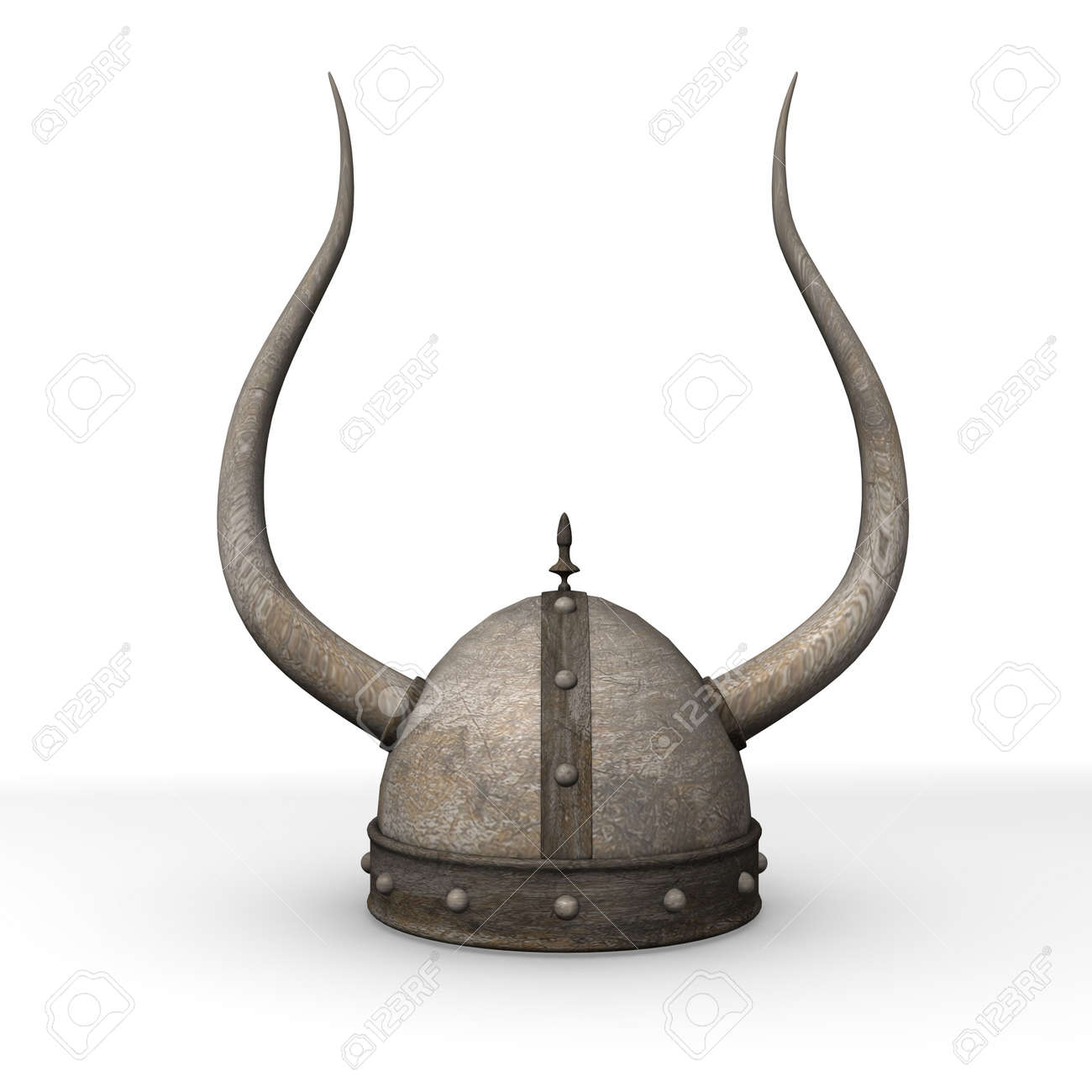 3d render of old helmet - 12906691