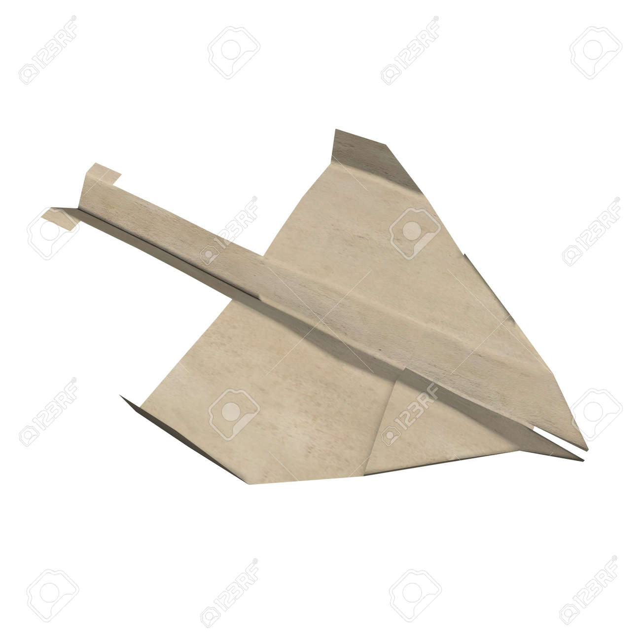 3d render of paper plane Stock Photo - 12915641
