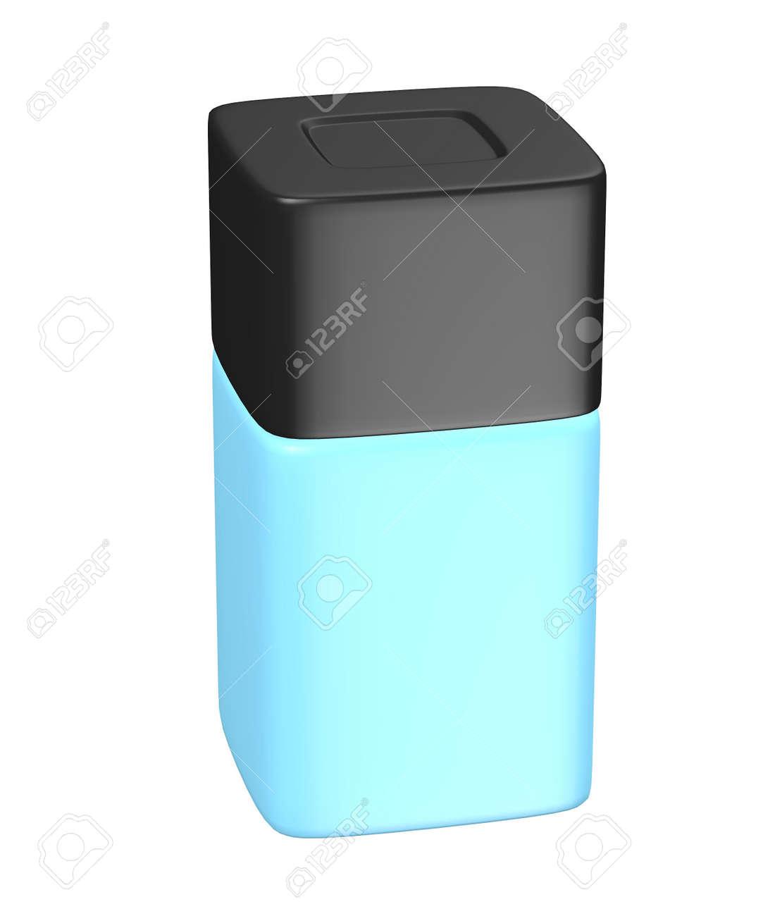3d render of eau de toilette bottle Stock Photo - 13737379