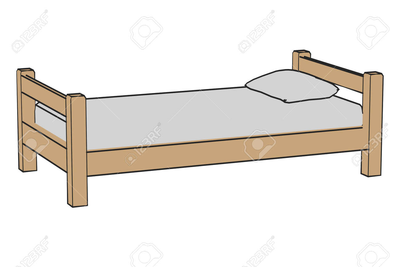 Cartoon Image Of Simple Bed Stock Photo Picture And Royalty Free Image Image 24092928 Bed cartoon 1 of 1261. cartoon image of simple bed