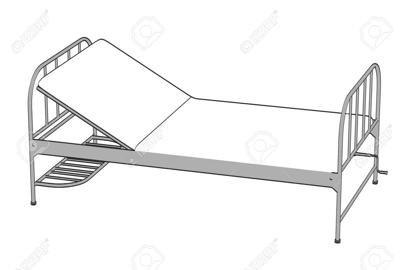 Ordinaire Cartoon Image Of Hospital Bed Stock Photo   24176993