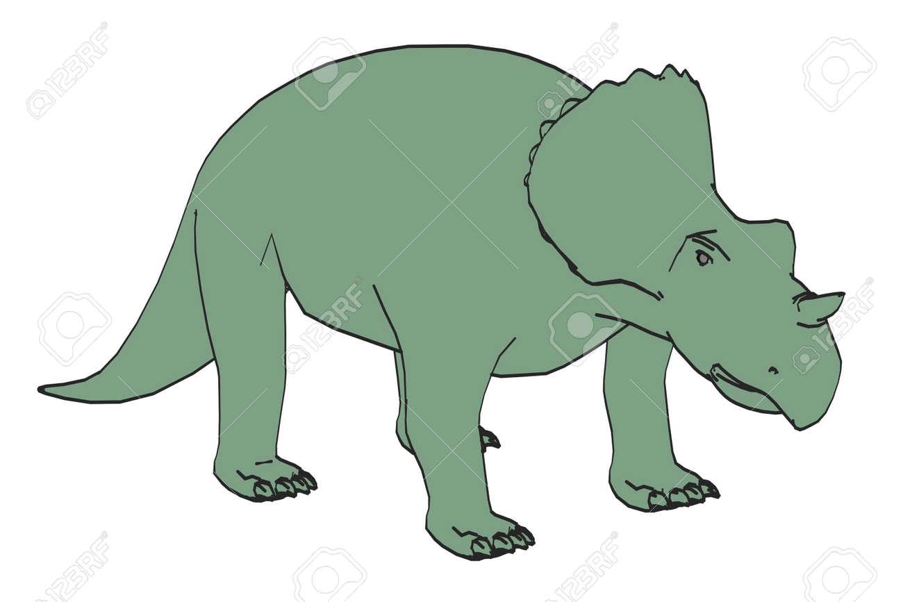 アヴァケラトプス恐竜の漫画画像...