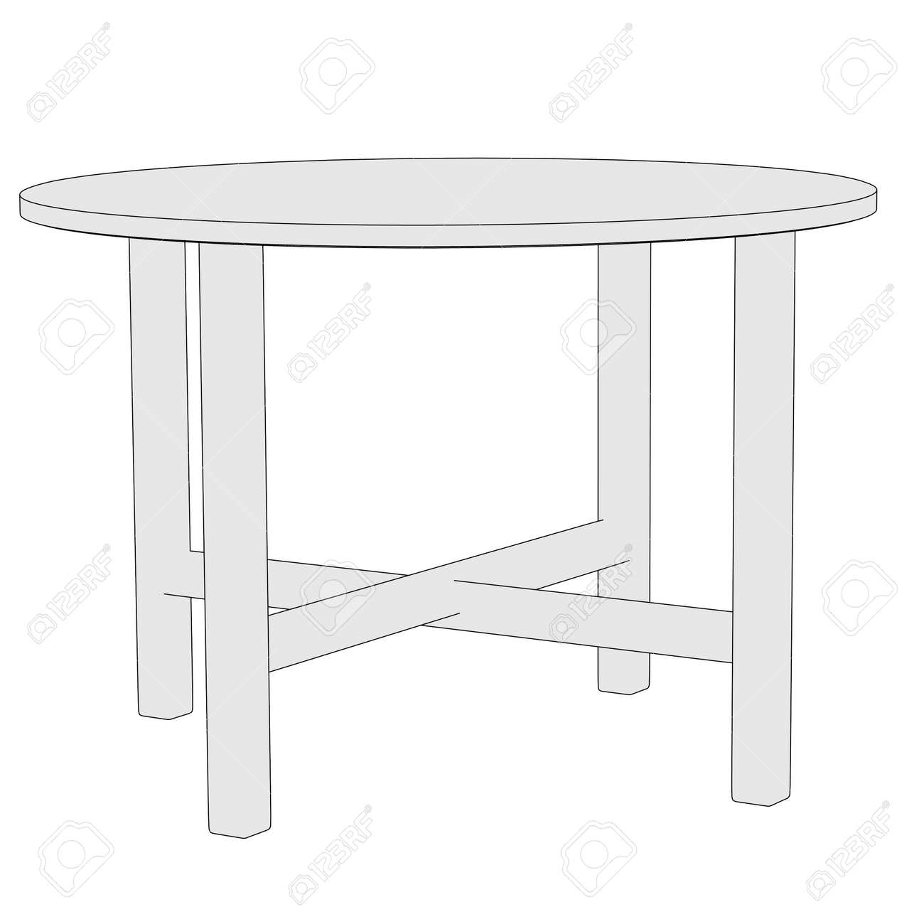Cartoon Image Of Garden Furniture Stock Photo Picture And Royalty Free Image Image 25003601