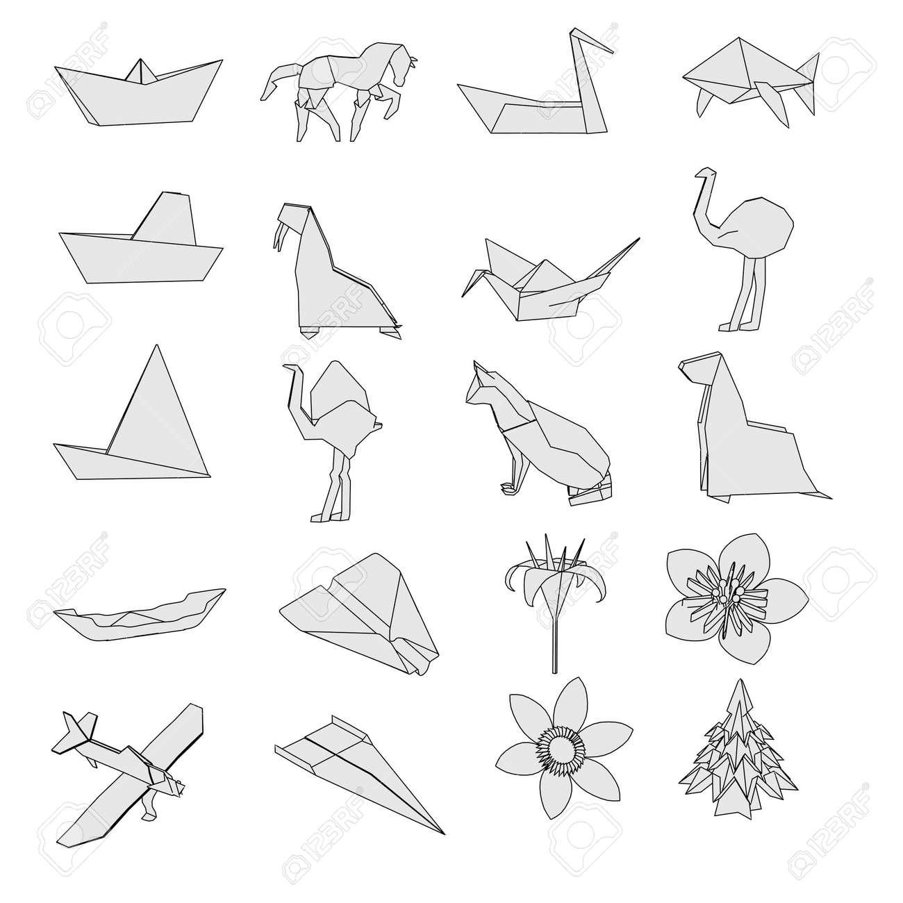 Что такое набор оригами